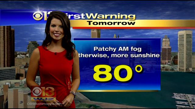 Meteorologist Chelsea Ingram Has Your Saturday Morning Forecast