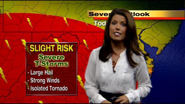 Meteorologist Chelsea Ingram Has Your Wednesday Noon Forecast