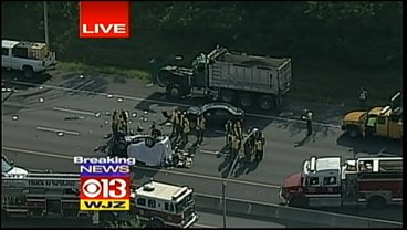 Fatal Accident Shuts Down Part Of 695