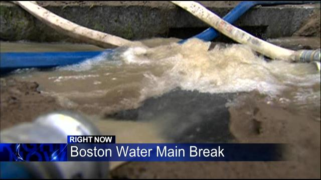 Downtown Boston Getting Back To Normal After Water Pipe Burst