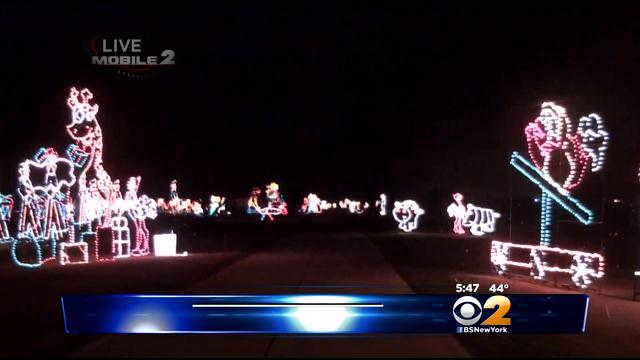Holiday Sights And Sounds Come Together At Jones Beach Lights Show