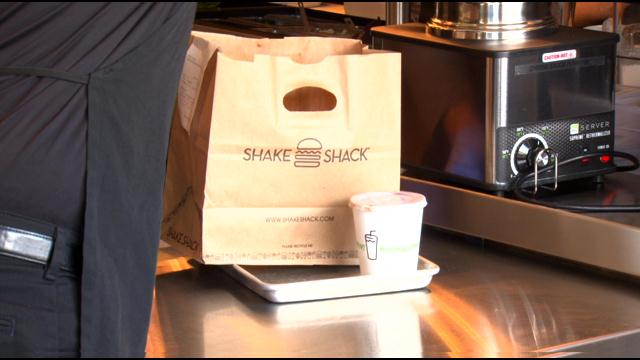 Shake Shack Opens On Route 9 In Chestnut Hill