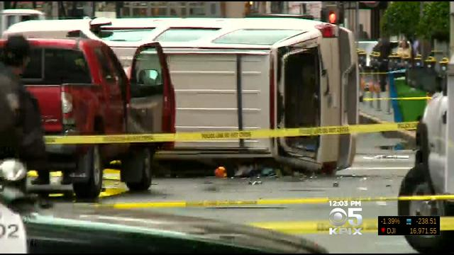 High-Speed Chase Ends In Rollover Crash, Injured Witness & Fatal Shooting  In SF's Financial District