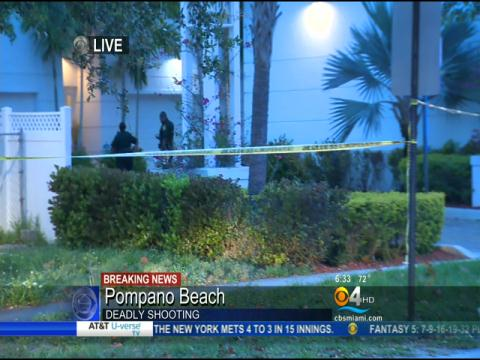 Deadly Shooting Under Investigation In Pompano Beach