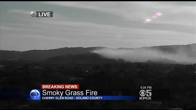 Target Fremont Hub >> Grass Fire Burning Near I-80 In Vacaville – CBS San Francisco