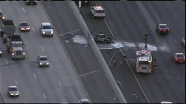 Raw Video: Fatal Crash Blocks Traffic On I-580 In Livermore